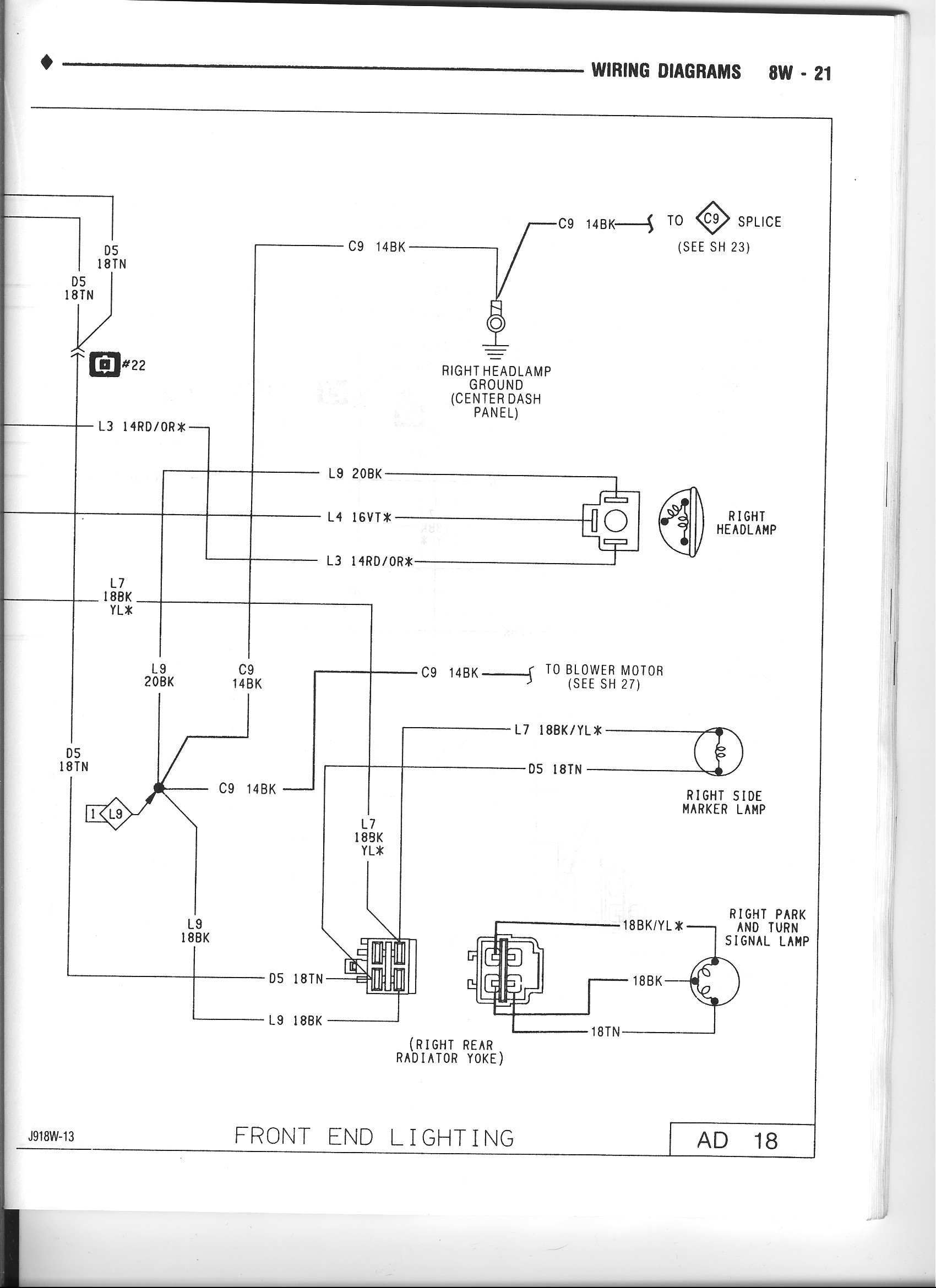 Dodge Pickup Wiring Diagram Get Free Image About 91 Dakota Picture 87 Alternator